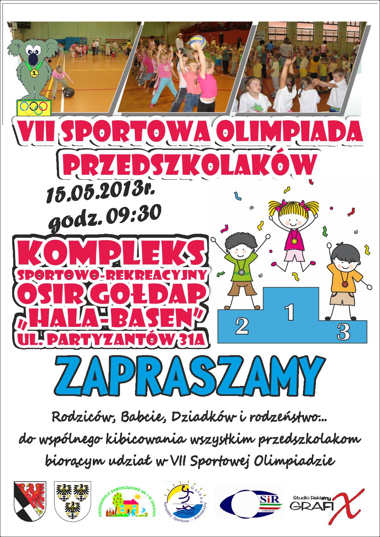 olimpiada przedszkolaków 2013