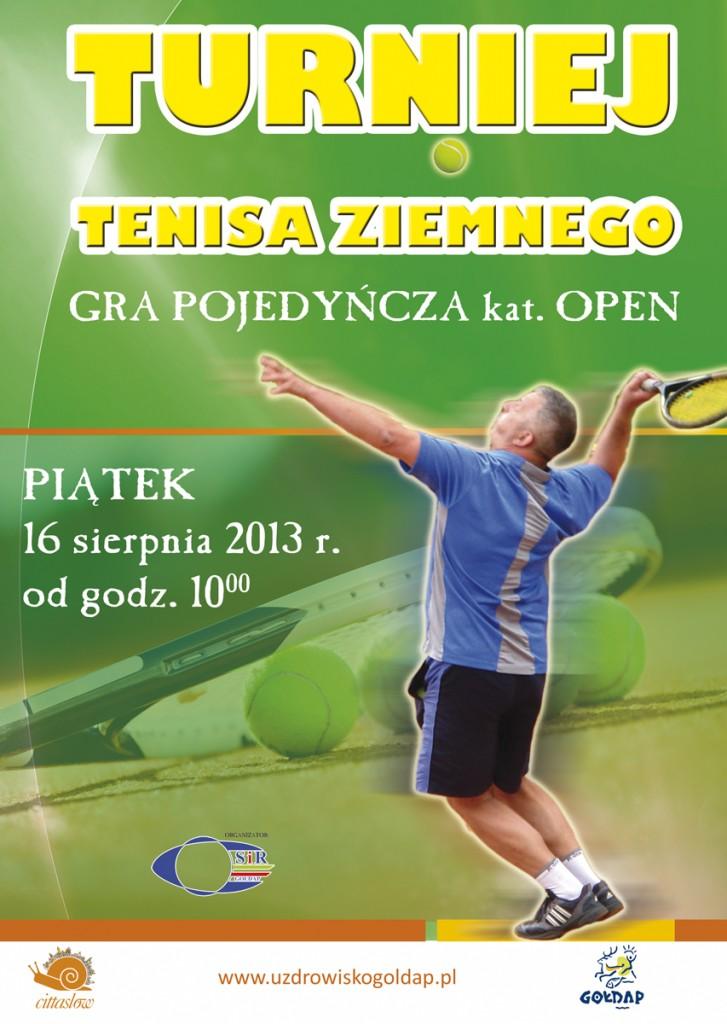 PLAKAT TENIS 2013