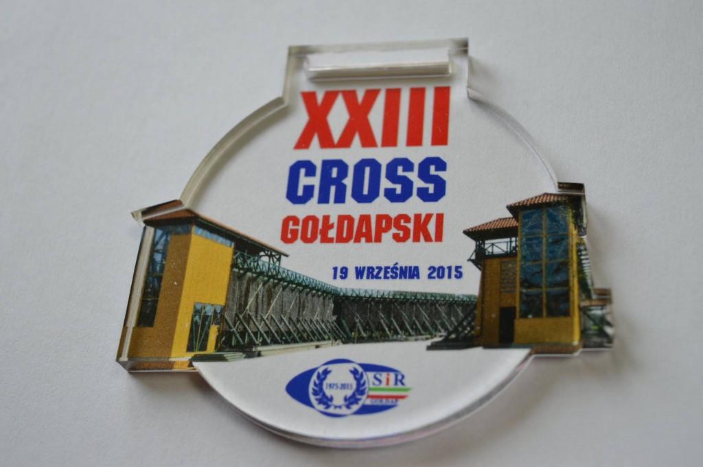 Medal XXIII Crossu Gołdapskiego
